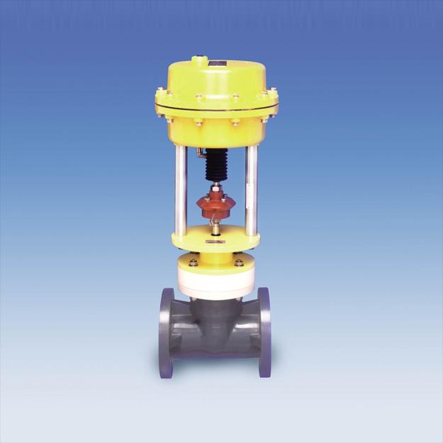 Válvula de control de globo neumática