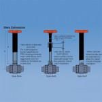 Extensiones-de-vástago-para-válvulas-de-mariposa
