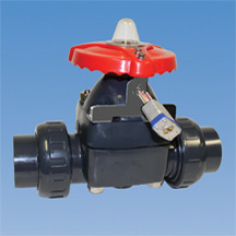 Locking device for manual plastic diaphragm valves asahiamerica manual plastic diaphragm valve options ccuart Image collections