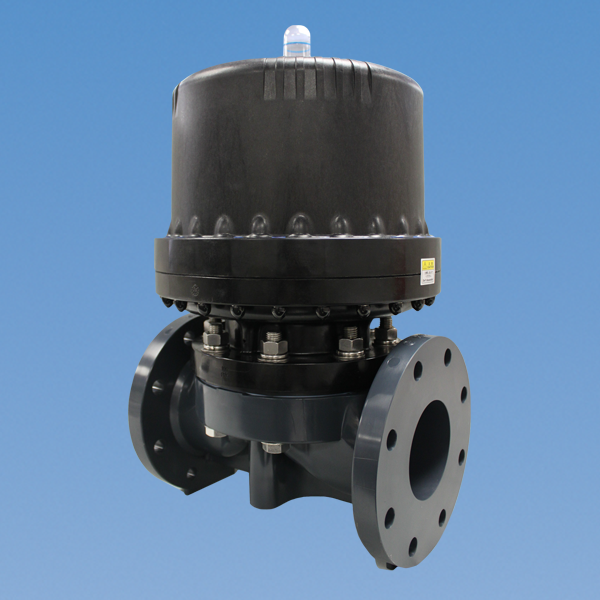 type-14-lg-diameter-diaphragm-valve-pneumatically-actuated