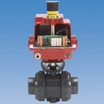 Electric Bus with type 21 ball valve