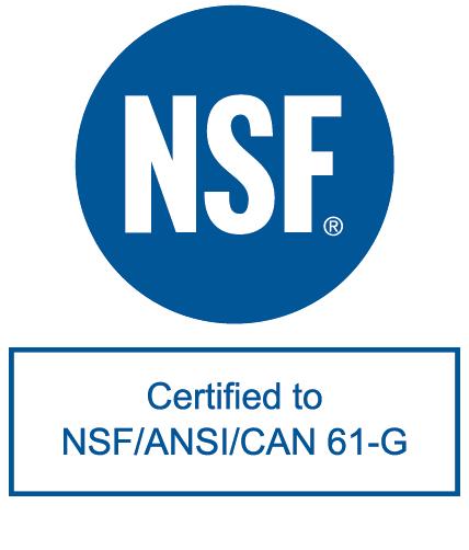 NSF ANSI CAN 61 G BLUE