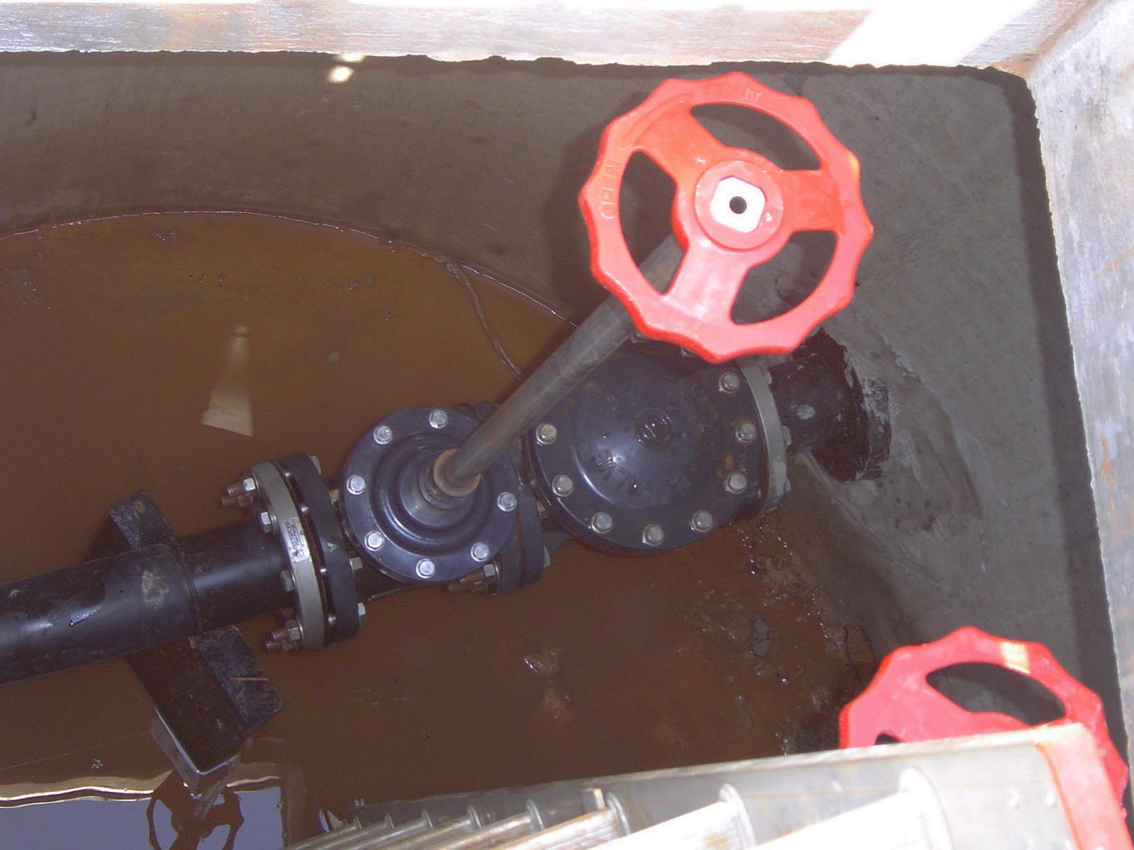 Contest Entry Gate and Swing Check Valve Landfill GA