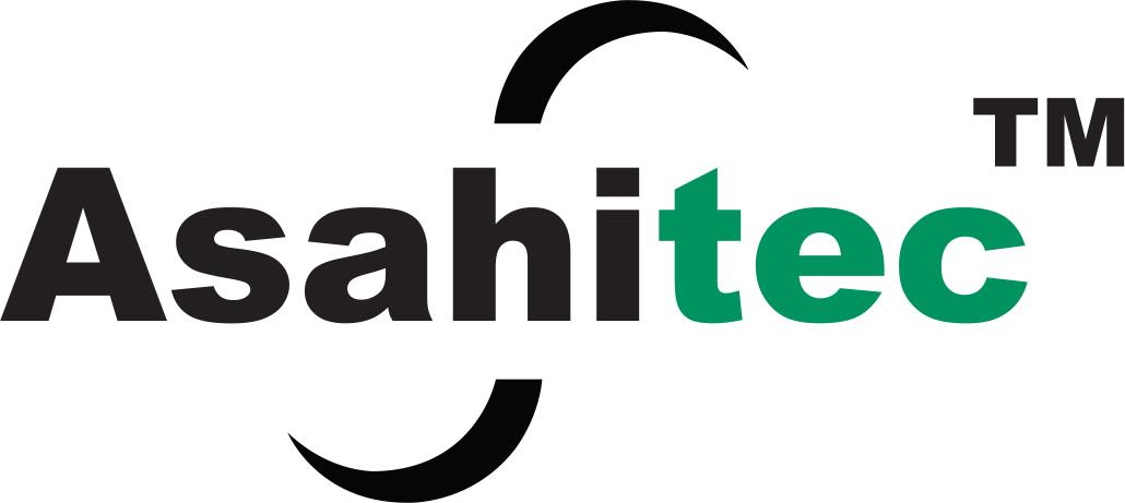 Logotipo verde Asahitec
