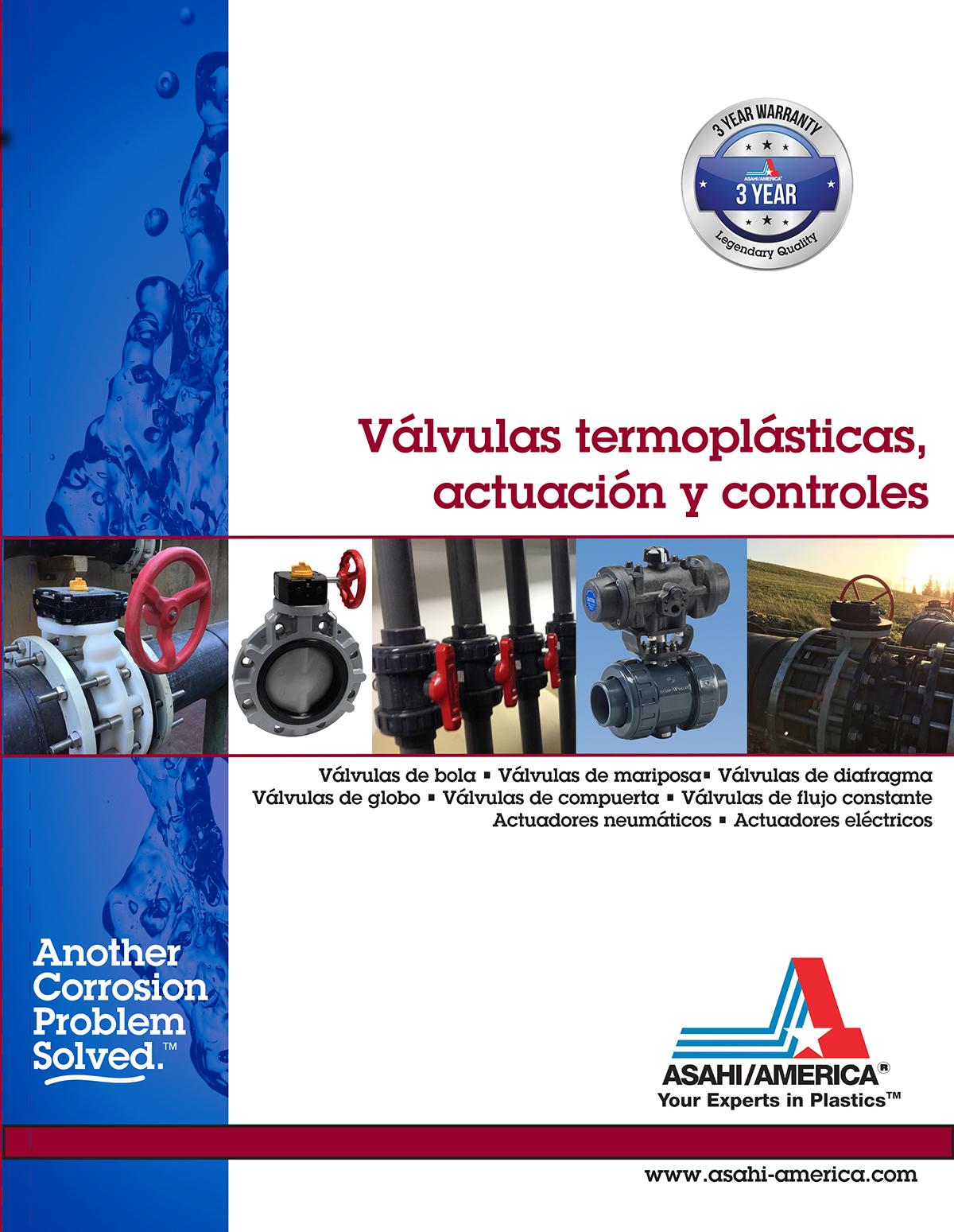 Portada del catálogo de válvulas 2019 en español