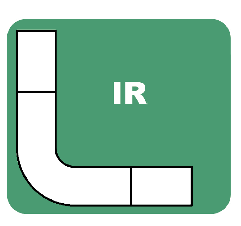 Logotipo de IR