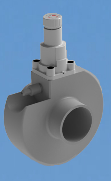 Válvula MPV de muestreo en línea