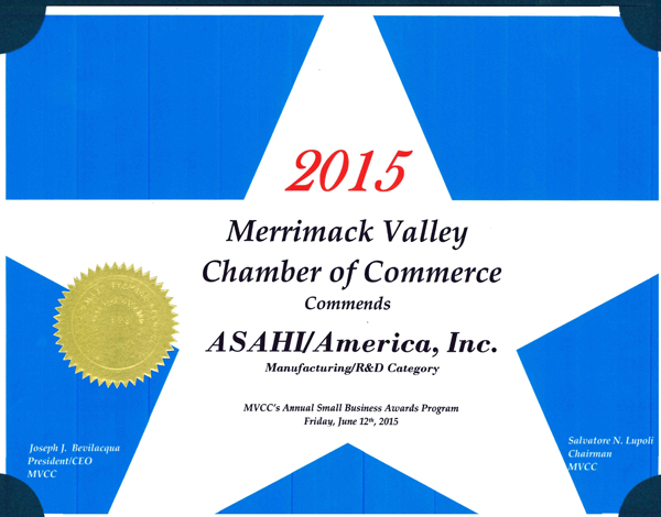 Premio Merrimack Valley2015