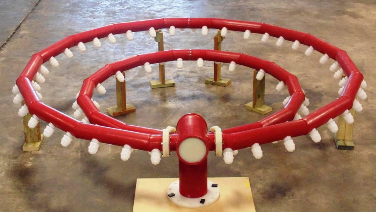 Sistema de desagüe personalizado Kynar 4