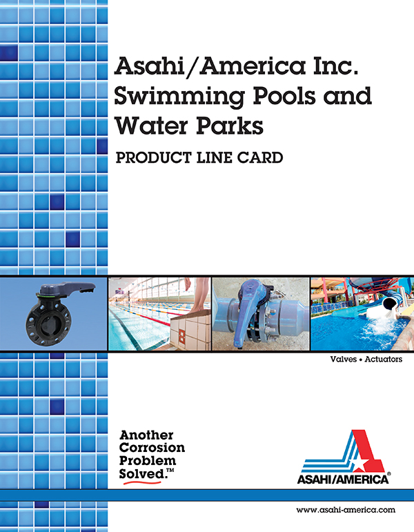 Asahi America Swimming Pool Industry Line Card 2017 Cover